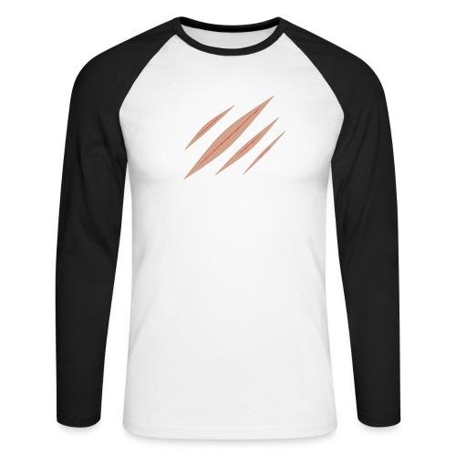 Panty Kratzer für Frauen - Männer Baseballshirt langarm