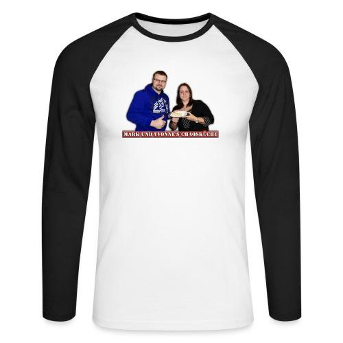 Mark und Yvonne Chaoskueche Logo - Männer Baseballshirt langarm