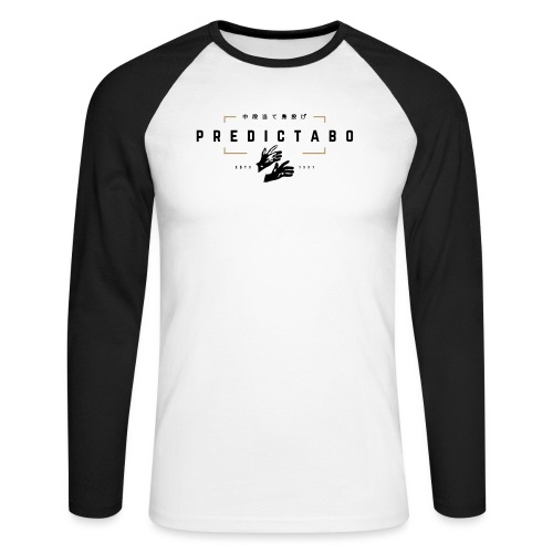 Predictabo - T-shirt baseball manches longues Homme