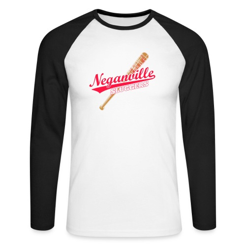 Neganville Sluggers - Men's Long Sleeve Baseball T-Shirt