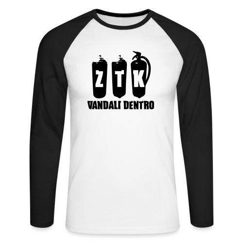 ZTK Vandali Dentro Morphing 1 - Men's Long Sleeve Baseball T-Shirt