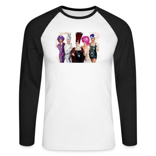 Covergirls - Männer Baseballshirt langarm