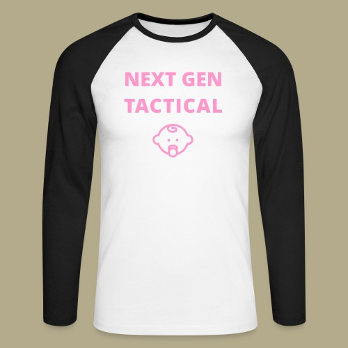 Tactical Baby Girl - Mannen baseballshirt lange mouw