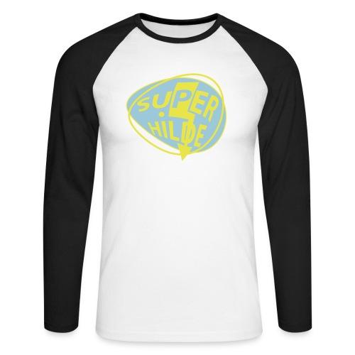 superhilde - Männer Baseballshirt langarm