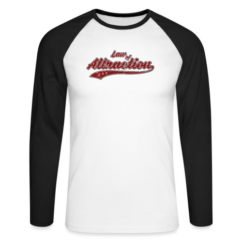 Law of Attraction Vintage - T-shirt baseball manches longues Homme