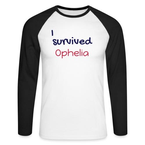 ISurvivedOphelia - Men's Long Sleeve Baseball T-Shirt