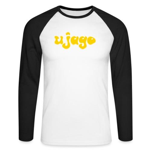 ujago gelb - Männer Baseballshirt langarm