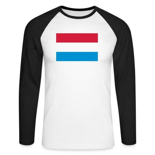The Netherlands - Mannen baseballshirt lange mouw