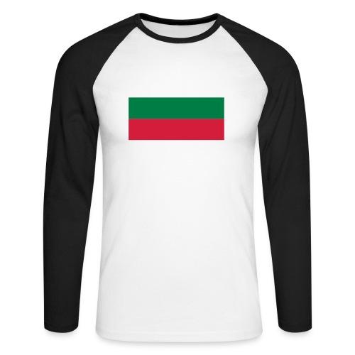 Bulgaria - Mannen baseballshirt lange mouw