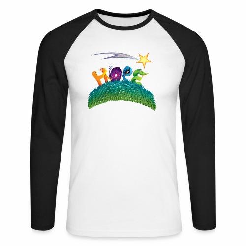 Hope - Men's Long Sleeve Baseball T-Shirt