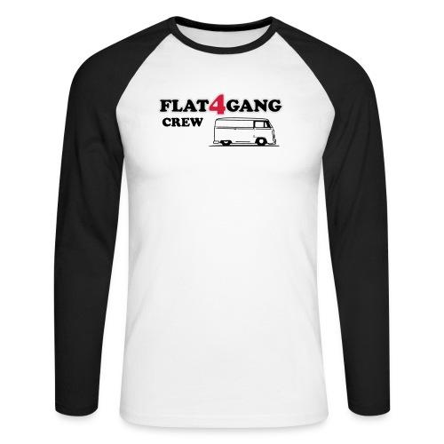 f4g crew - Mannen baseballshirt lange mouw