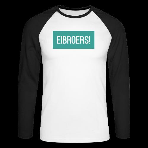 T-shirt Eibroers Naam - Mannen baseballshirt lange mouw