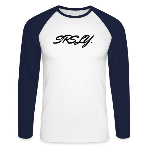 SRSLY - T-shirt baseball manches longues Homme