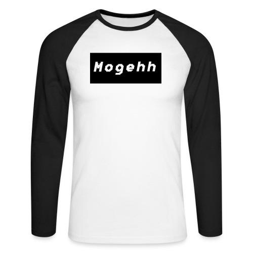 Mogehh logo - Men's Long Sleeve Baseball T-Shirt