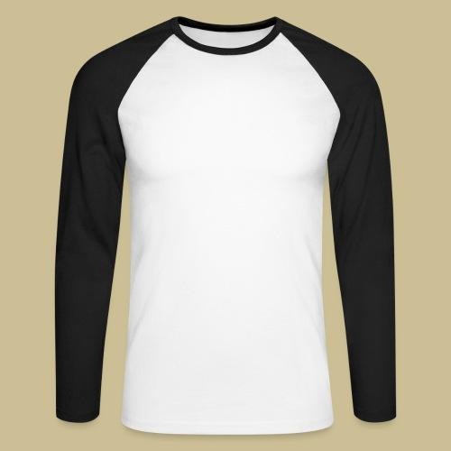 Gugelhupf (white) - Männer Baseballshirt langarm