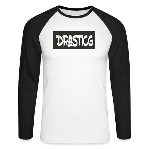 Drasticg - Men's Long Sleeve Baseball T-Shirt