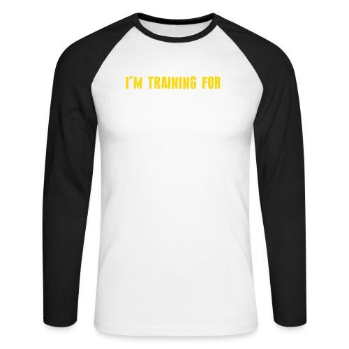 tshirt back - Mannen baseballshirt lange mouw