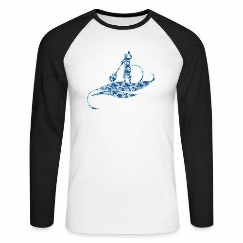 logo jungle style - T-shirt baseball manches longues Homme