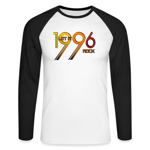 Let it Rock 1996 - Männer Baseballshirt langarm