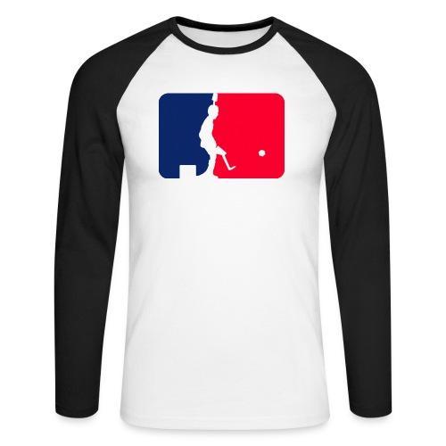 Major League Tipp-Kick Shirt - Männer Baseballshirt langarm