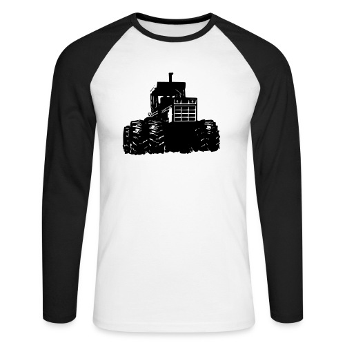 IH 4WD Tractor - Men's Long Sleeve Baseball T-Shirt