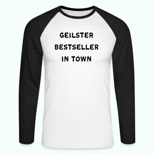 BESTSELLER - Männer Baseballshirt langarm
