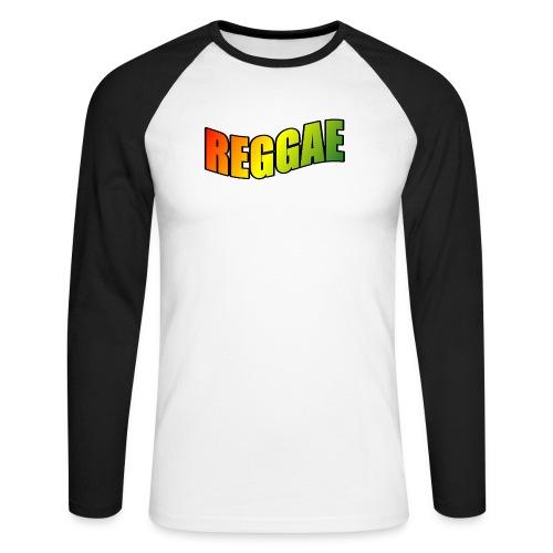 Reggae - Men's Long Sleeve Baseball T-Shirt