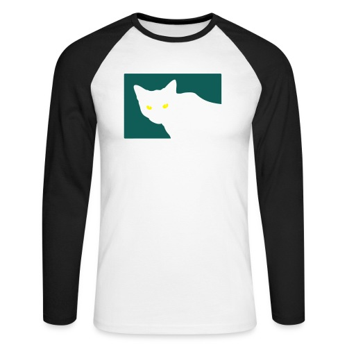 Spy Cat - Men's Long Sleeve Baseball T-Shirt