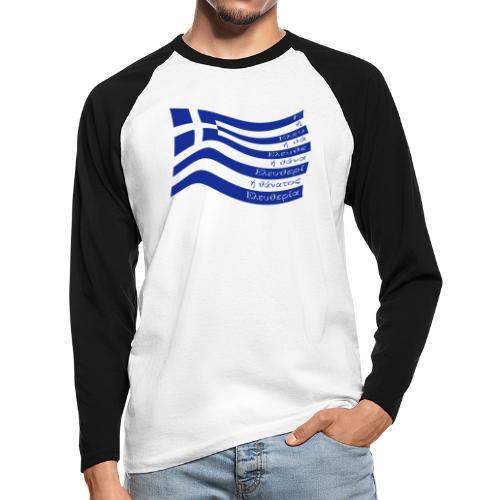 galanolefki - Männer Baseballshirt langarm