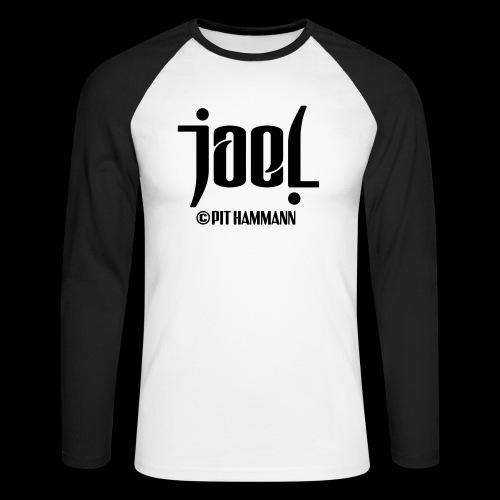 Ambigramm Joel 01 Pit Hammann - Männer Baseballshirt langarm