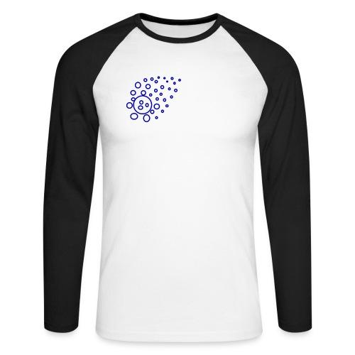 T-Shirt Kugeln - Männer Baseballshirt langarm