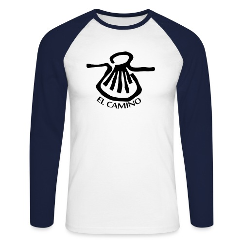 El Camino - Langærmet herre-baseballshirt