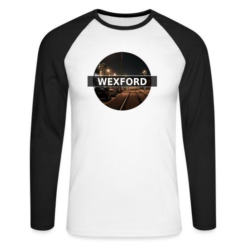 Wexford - Men's Long Sleeve Baseball T-Shirt