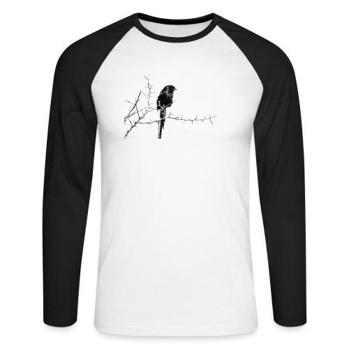 I like birds ll - Männer Baseballshirt langarm