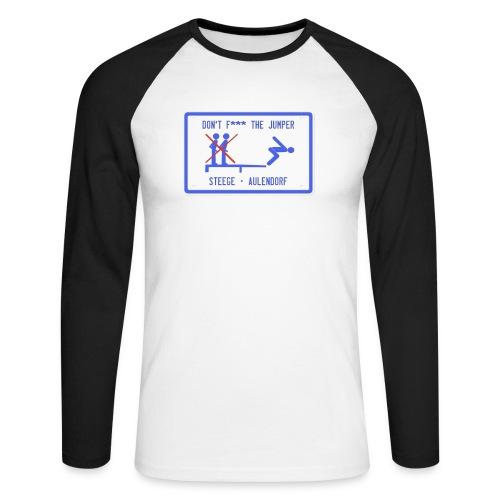 Steege - Schild - Männer Baseballshirt langarm