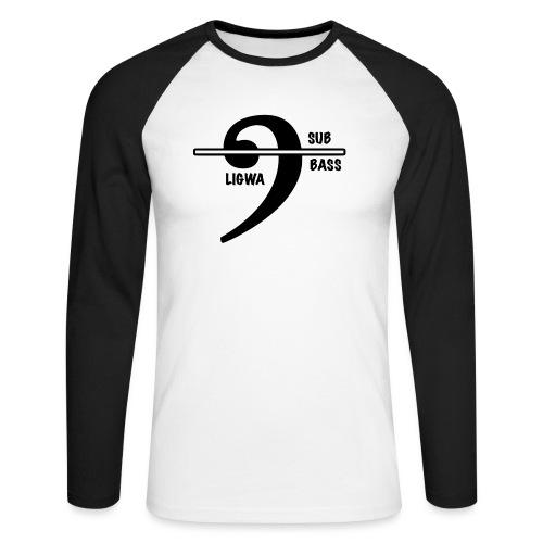 LIGWA SUB BASS - Men's Long Sleeve Baseball T-Shirt