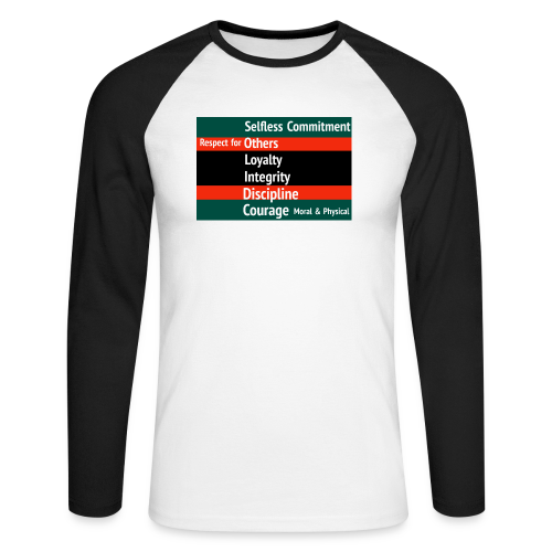 S.O.L.I.D.C. - Men's Long Sleeve Baseball T-Shirt