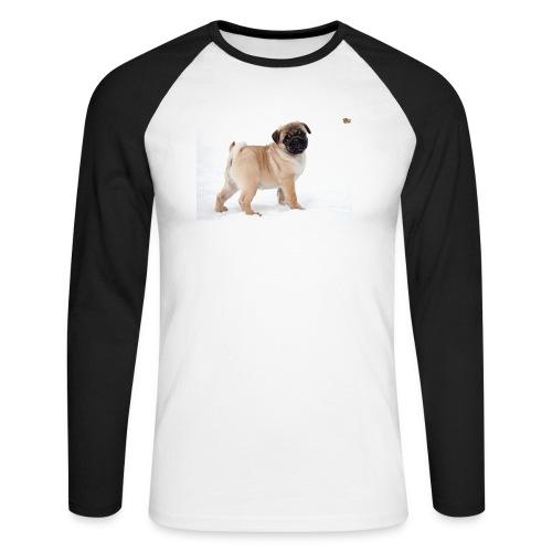 walker family pug merch - Men's Long Sleeve Baseball T-Shirt