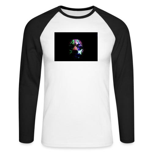 Humam chameleom - Men's Long Sleeve Baseball T-Shirt