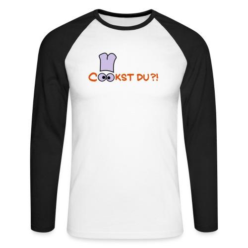 Cook st Du? - Männer Baseballshirt langarm