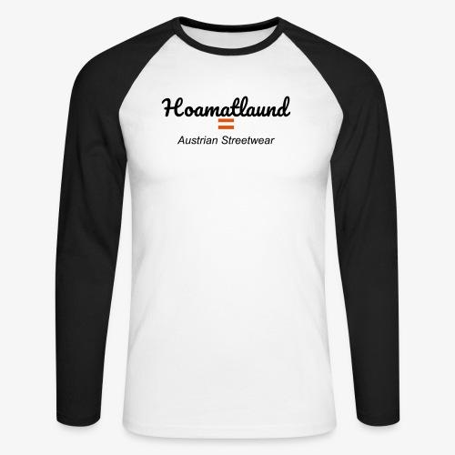hoamatlaund austrain Streetwear - Männer Baseballshirt langarm