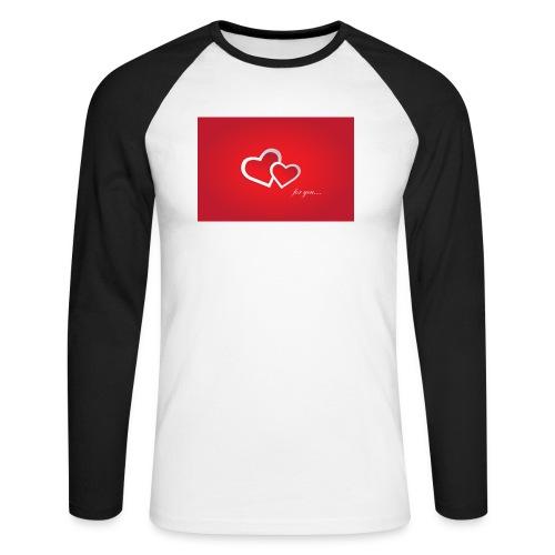 for you - Männer Baseballshirt langarm