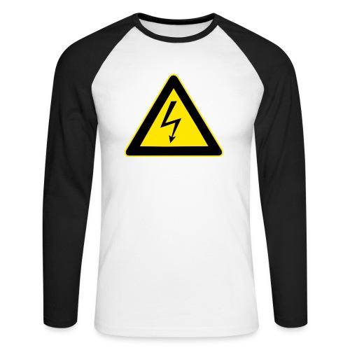 High Voltage - Men's Long Sleeve Baseball T-Shirt