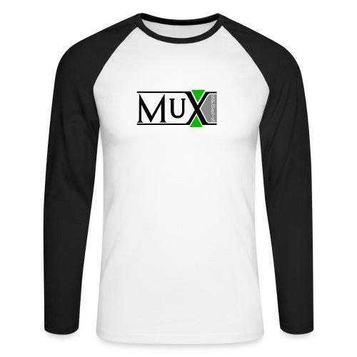 Muxsport - Männer Baseballshirt langarm