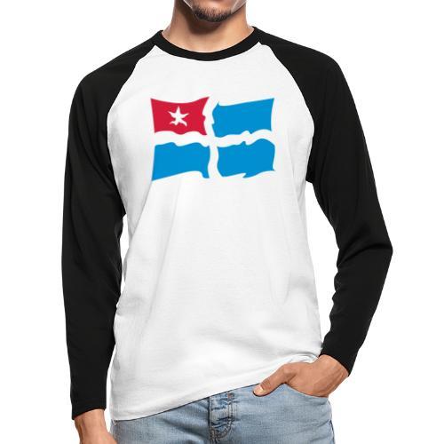 kreta - Männer Baseballshirt langarm