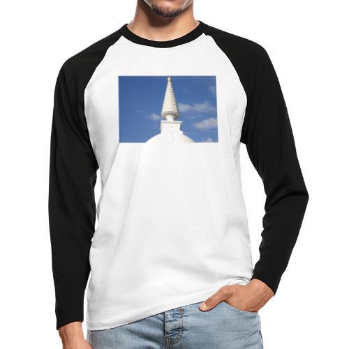 Stupa in Zalaszántó [2] - Männer Baseballshirt langarm
