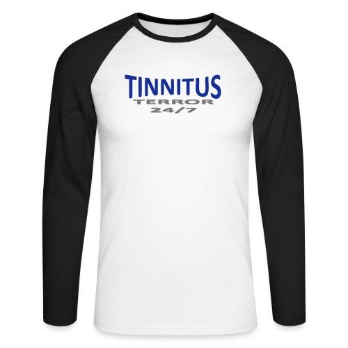 terror - Langermet baseball-skjorte for menn