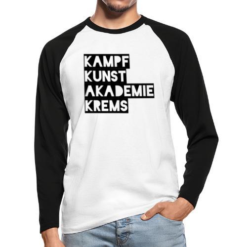 KKA 2016 lifestyle back2 - Männer Baseballshirt langarm
