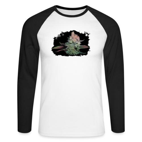 Pflänzchen png - Männer Baseballshirt langarm