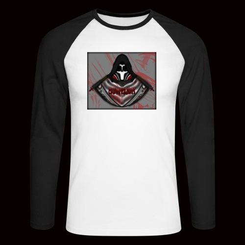 SoWeQDK Reaper ! - Langærmet herre-baseballshirt